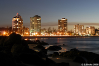 Twilight in Coolangatta, Queensland
