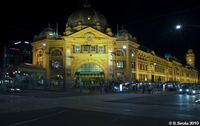 Flinders St Train Station, Melbourne, Victoria