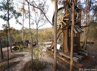 The remains of the old Tin Mine in Herberton, QLD