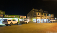 Herberton, QLD old mining town, at night