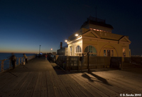 St Kilda Pier At Night, Melbourne, Victoria