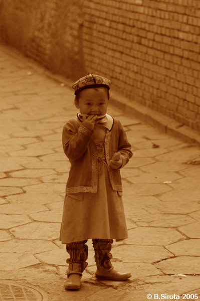 China minority kid