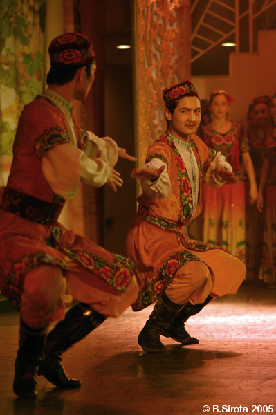 Traditional  uygur dance