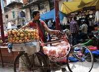 Fruit Seller at Durbar Square