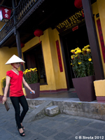 Modern fashion in Old Hoi An