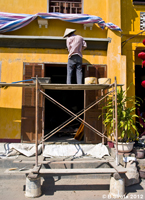 Worker in Hoi An