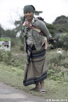 Woman And Baby From an Ethnic Minority